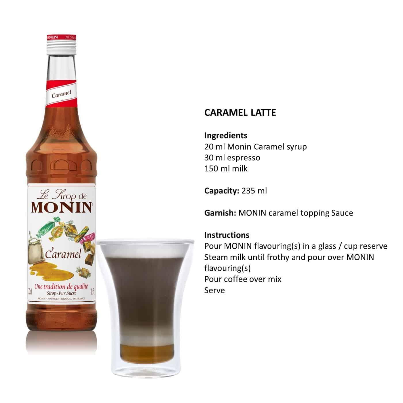 Buy Monin Caramel Syrup Online In Malaysia Luen Heng